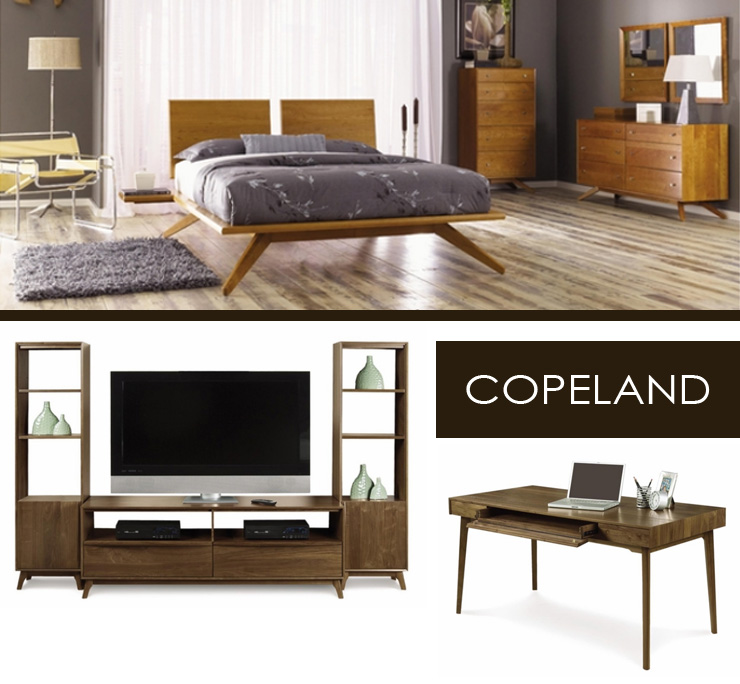 Take a look at Copeland Furniture - a new line of modern furniture now available at Inmod.com!