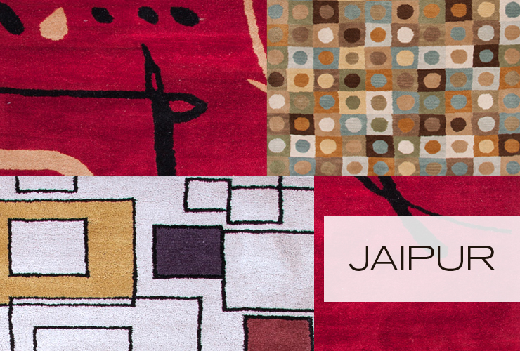 Take a look at Jaipur - a new line of modern rugs now available at Inmod.com!