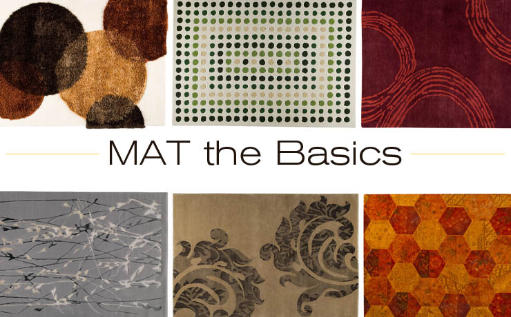 Take a look at MAT the Basics - a new line of contemporary modern rugs now available at Inmod.com!