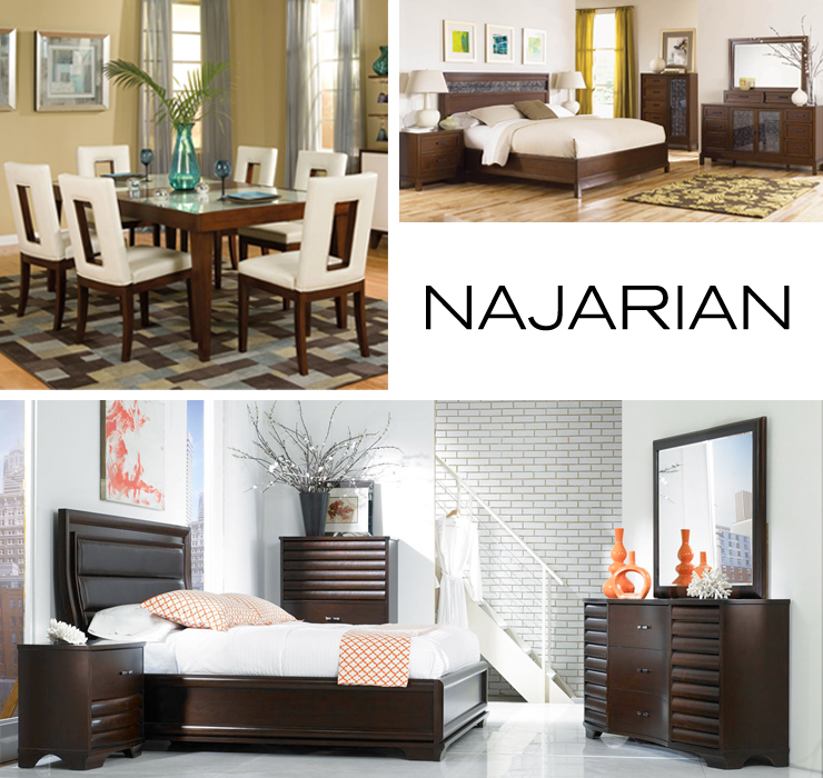 Take a look at Najarian - a new line of modern bedroom and dining furniture now available at Inmod.com!