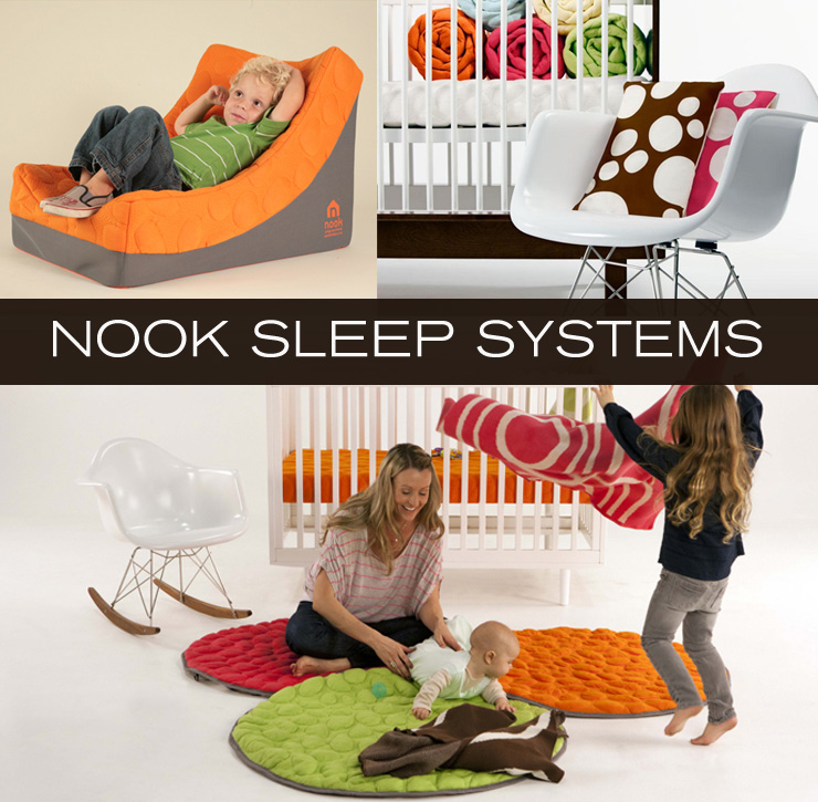 Take a look at Nook Sleep Systems - a new line of mattresses, bedding, and playmats for children now available at Inmod.com!