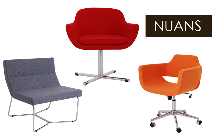 Take a look at Nuans Design - a new line of modern furniture now available at Inmod.com!