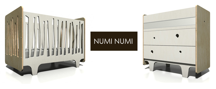 Take a look at Numi Numi Design - a new line of modern furniture now available at Inmod.com!