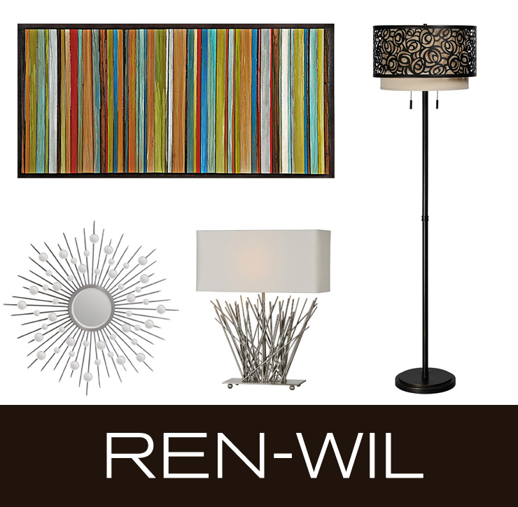 Take a look at Ren-Wil - a new line of lighting, wall art, and accessories now available at Inmod.com!