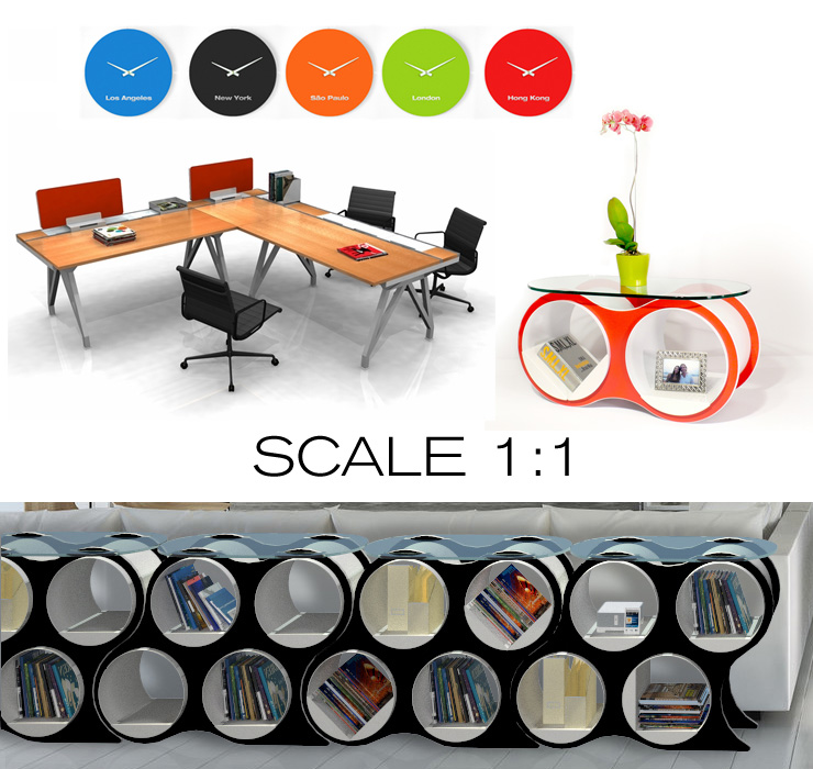 Take a look at Scale 1:1 - a new line of modern furniture now available at Inmod.com!