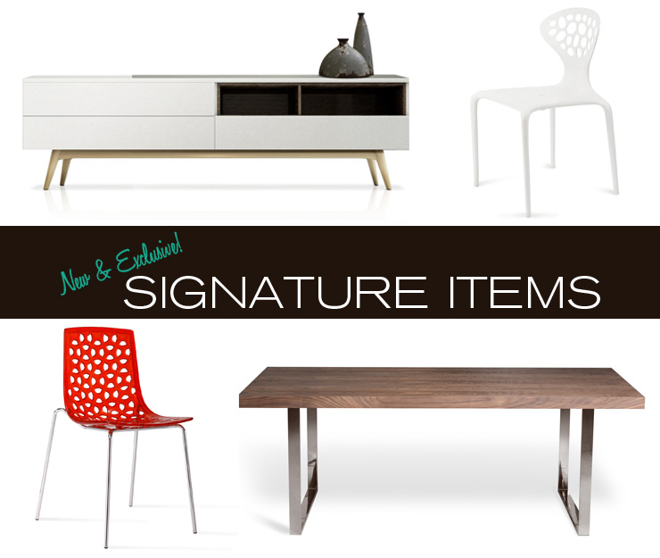 Take a look at the NEW Inmod Signature items now available at Inmod.com!