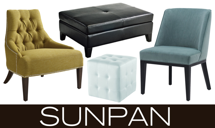 Take a look at Sunpan - a new line of modern furniture now available at Inmod.com!