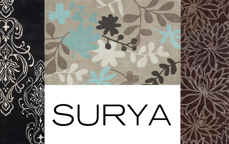 Take a look at Surya - a new line of modern and contemporary rugs now available at Inmod.com!