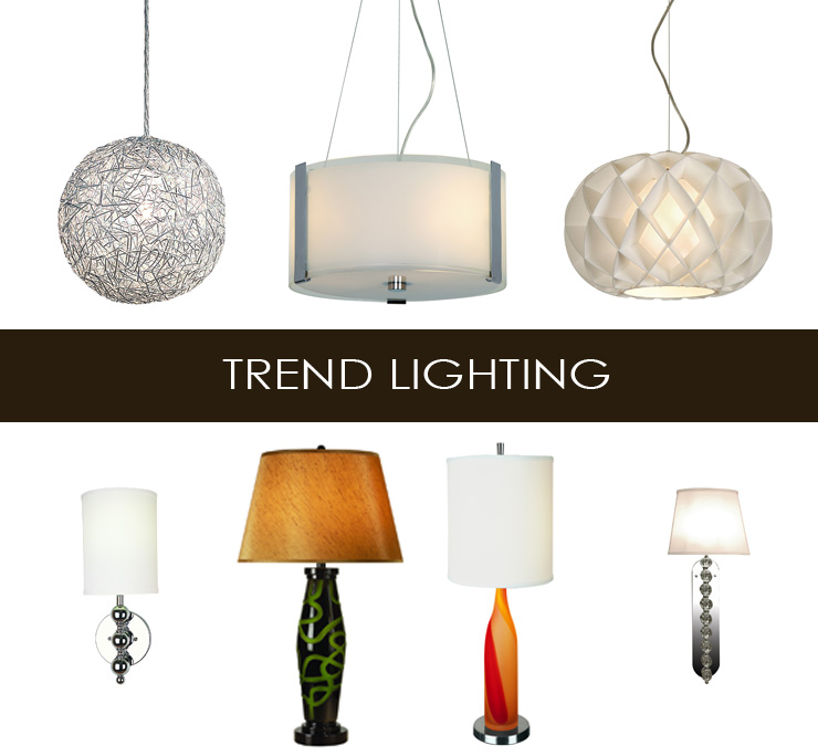 Take a look at Trend Lighting - a new line of modern furniture now available at Inmod.com!