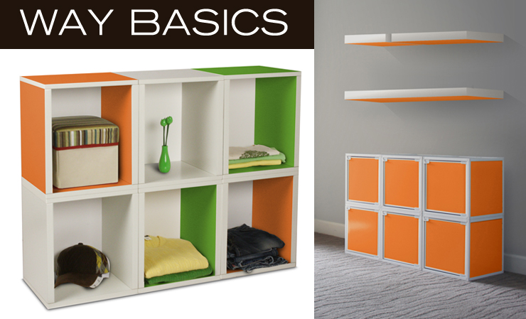 Take a look at Way Basics - a new line of modern storage now available at Inmod.com!