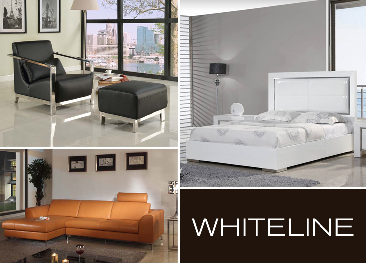 Take a look at Whiteline - a new line of modern furniture now available at Inmod.com!