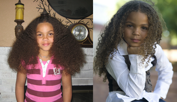 Kids with Curly Hair