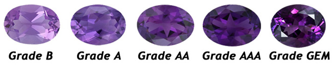 amethyst color chart - photo #9