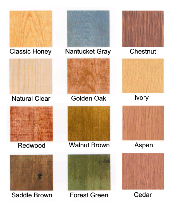 Knight Chemical IWF Series Interior Wood Finish Sample   Log Home Stain  Samples