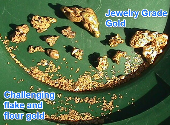 Our Gold Panning Paydirt Bags Have GUARANTEED GOLD RECOVERY