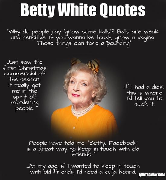 funny Betty White