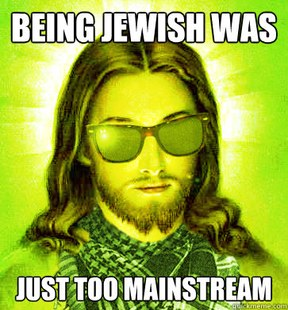 funny hipster jesus