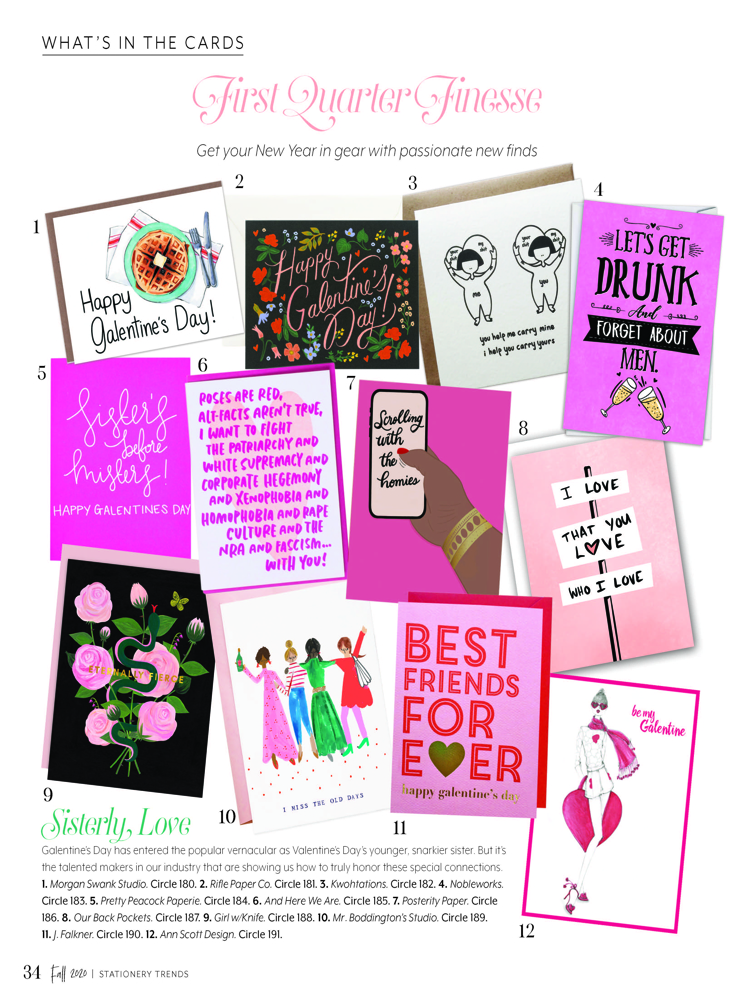 stationery trends fall 2020 issue