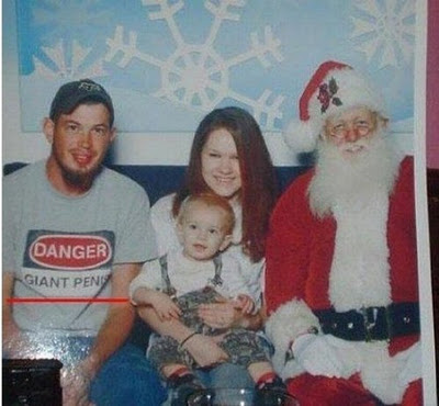 strange family christmas photos