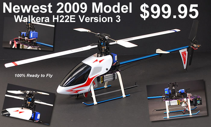 Version 3 H22E RC Helicopter