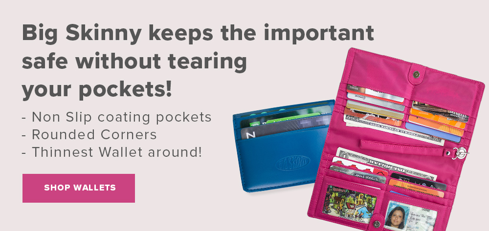 BigSkinny Wallets Keeps the Important Things Safe - Shop Women's Wallets
